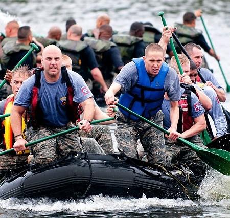 teambuilding på båd