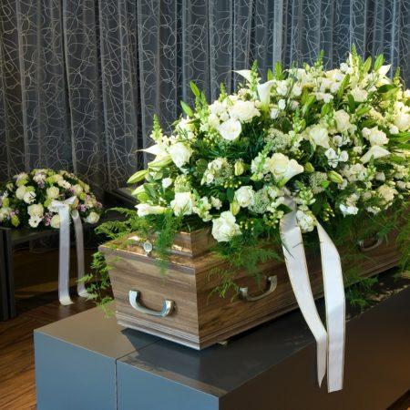 fin begravelse